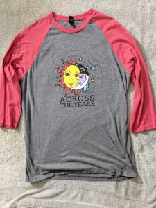 Across The Years - T-Shirt